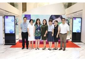 瑞蓝厂商法国高德美高层莅临上海美莱参观交流