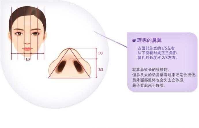整形术有风险吗 鼻翼缩小后也需要恢复期,恢复后,宽鼻子变窄,会图片