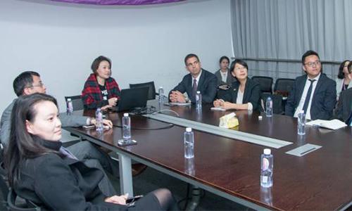 上海美莱总经理刘日先 先生与Jason Smith