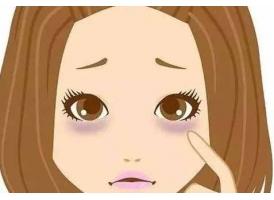 黑眼圈重和什么部位有关系吗
