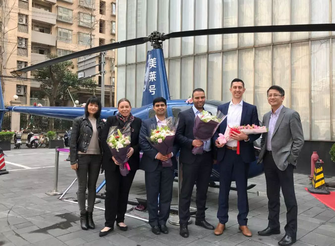 美国艾尔建高管团队莅临上海美莱助力国际整形节
