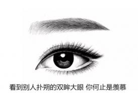 上海韩式双眼皮手术多少钱
