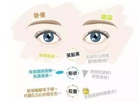 美莱何祥龙:卧蚕和眼袋的区别到底是什么
